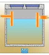 AZUWater SEPTIC tank CM small wastewater treatment