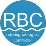 Rotation Biological Contactor RBC in wastewater treatment plant