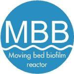Moving Bed Biofilm Reactor MBBR in wastewater treatment plant