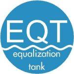 Equalization tank for wastewater flow