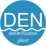 Denitrification plant in wastewater treatment