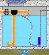 AZU water House Strom S Rainwater Harvesting