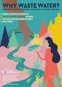 poster giornata mondiale dell'acqua