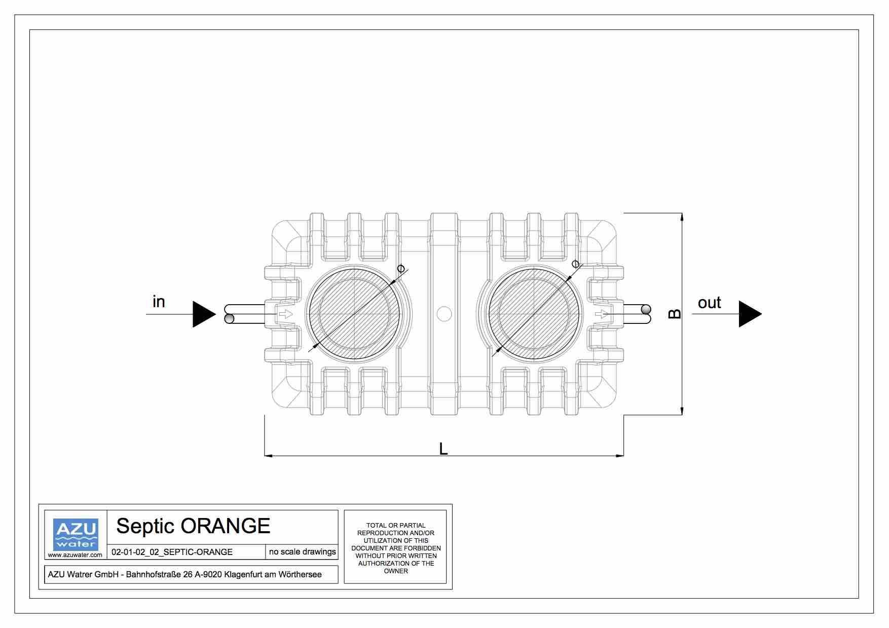 septic tank orange