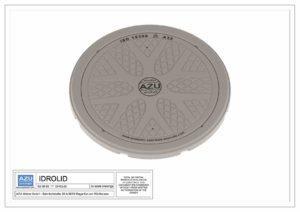 Chiusino in polietilene IDROLID DN 600 leggero certificato e testato