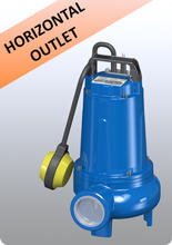 submersible pump TECNO horizontal output